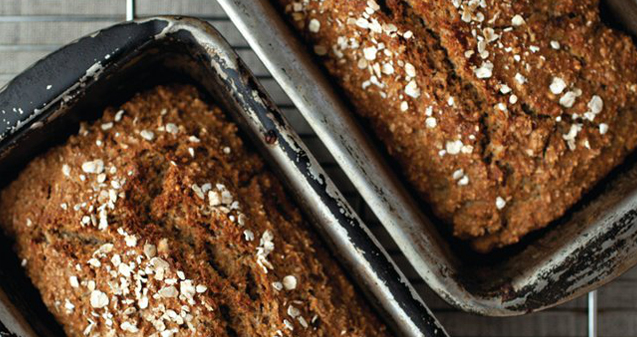 Flaxseed wheaten bread