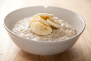 Tasty flaxseed porridge